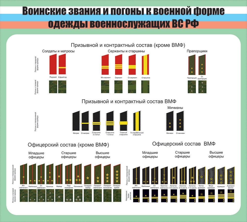 квартиру воинский состав и воинские звания в картинках ольгино парк